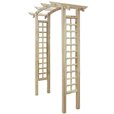 Wooden Garden Arch Trellis for Climbing Roses & Plants Best Outdoor Decoration