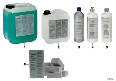 BMW Genuine Textile Leather Alcantara Upholstery Cleaner 1L Litre 83192349847