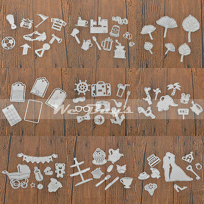 1 Pc Metal Cutting Dies Set DIY Scrapbooking Embossing Album Paper Cards Decor