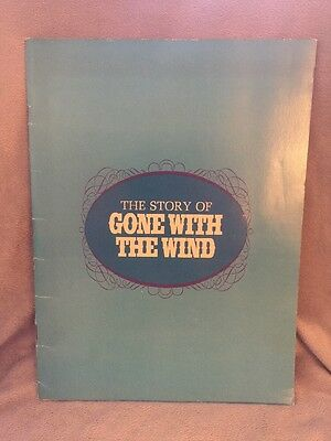The Story Of Gone With The Wind 1967 Souvenir Book