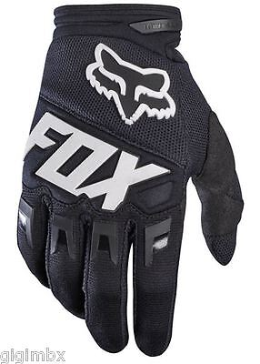 Fox Guanti Dirtpaw Race Glove 2017 Nero Black X Enduro Cross Motocross Mtb Dh