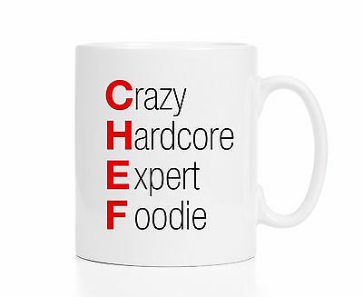 Chef Mug / Chef Gift / Gift for Chef / Chef Coffee Cup