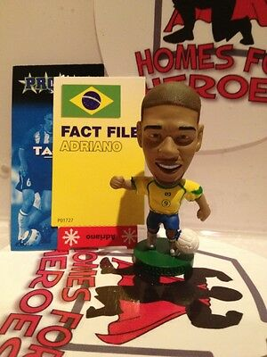 Corinthian Prostar Brazil Adriano Pr130 Silver Boots Sealed In Sachet With Card