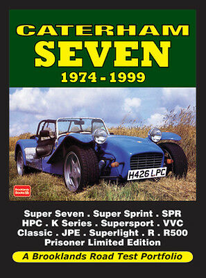 Caterham Seven Buyer's Guide Reviews & Road Test Portfolio 1974-1999 CT74RP NEW