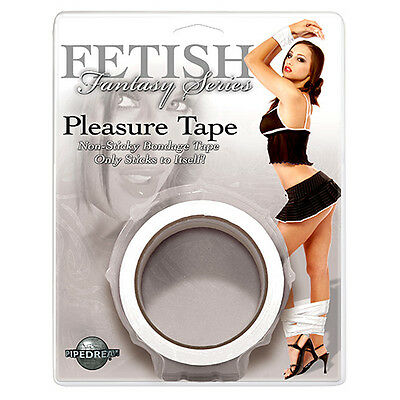 Nastro Bondage Fetish Serie Fantasy Pleasure Tape Bianco - Sex Toys XXX