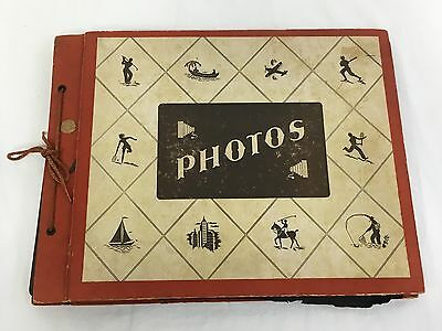 WWII US Army Soldiers Photo Album - 103 Photos