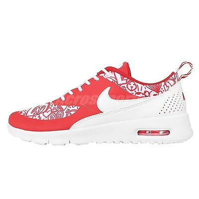 Nike Air Max Thea SE GS White Red Kids Youth Womens Running Shoes 820244-600
