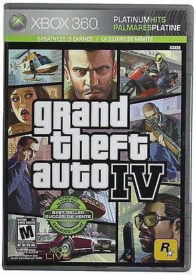 Grand Theft Auto IV -- Xbox 360 -- VARIOUS CONDITIONS