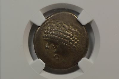 Celts, Noricum c.2nd-1 Century BC AR Tetradrachm NGC CH VF Strike & Surfaces 4/5