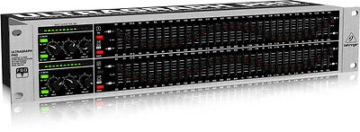 Behringer Ultragraph Pro Fbq3102 Audiophile 31-Band Stereo Graphic Equalizer