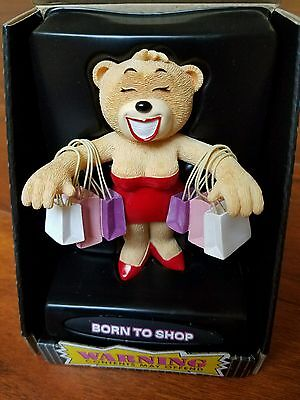 Bad Taste Bears: Born To Shop NEW In Box