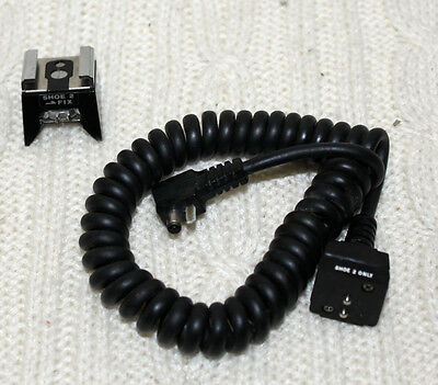 Olympus TTL AUTOCORD w/ Accessory Shoe 2 Made in Japan