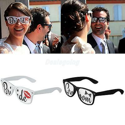 Funny Lips Bride & Groom Sunglasses for Costume Party Glasses