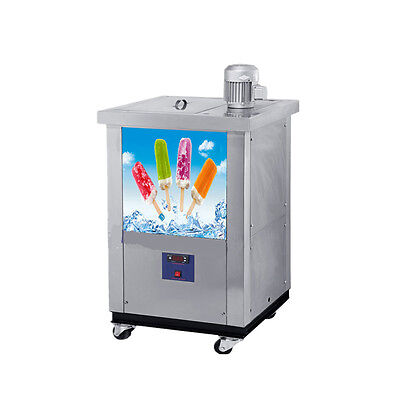 Stainless Steel Commercial Popsicle Maker ice lolly machine 110V with Mould