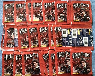 Panini Harry Potter and the Prisoner of Azkaban Stickers 100 Packets