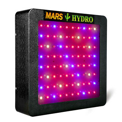 Mars II 400W Led Grow Light Lamp Full Spectrum IR Hydro Plant Veg Flower Indoor