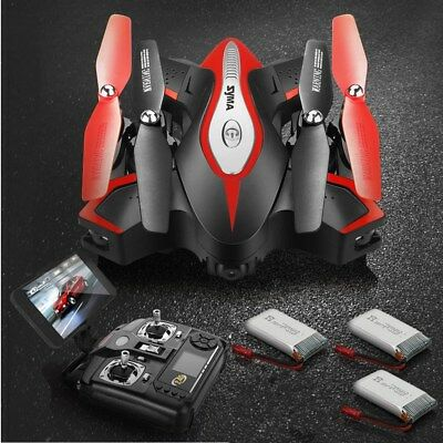 UK SHIP 4 Battery Syma X5SC 2.4G 4CH RC Quadcopter Drone HD Camera Altitude Hold
