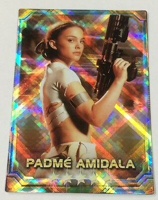 Padme Amidala STAR WARS Force Collection Promo Card Holo / Shiny Japanese