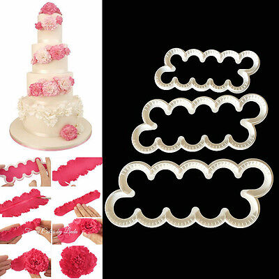 Cake Decorate Fondant Gum Paste Easiest Carnation Ever Cutters Modelling Mould A