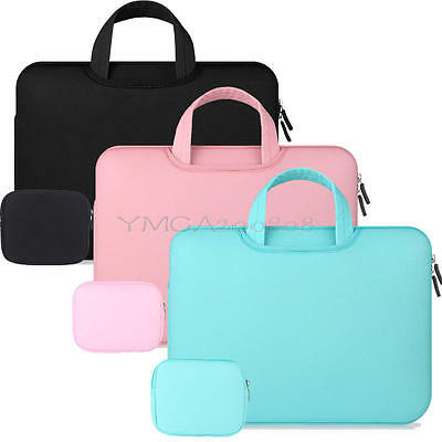 Laptop Notebook Sleeve Case Carry Bag Handbag For Mac MacBook Air Pro 11 13 15 ""