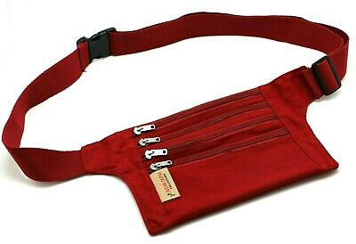 Music Festival Denim Fanny Pack Hip Pouch Travel Bag Black,Red,Fuchsia,Olive JTC