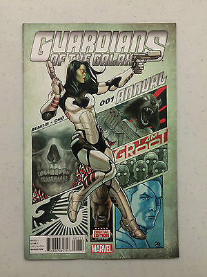 Guardians of the Galaxy Annual #1 1st Print Bendis Cho Marvel