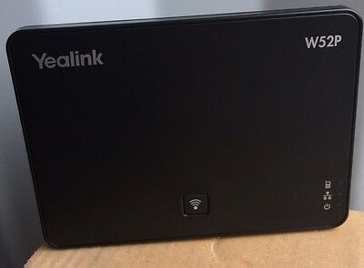 Yealink SIP - W52P DECT Cordless IP Base Unit ONLY