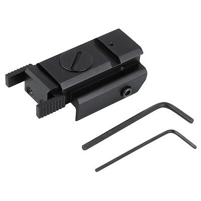 650nm 5mW Tactical Red Dot Laser Sight Rail Mount 20mm for Hunting GD