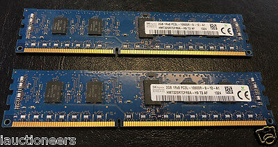 Hynix 2x 2GB PC3-10600R DDR3-1333MHz ECC Registered 240-Pin HMT325R7CFR8A-H9