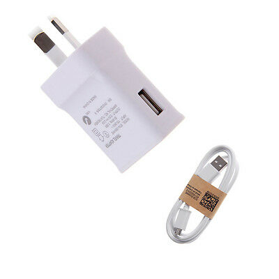 Fast Wall Charger Power Adapter 2A AU Plug + cable For Samsung Galaxy S6 S7 Edge