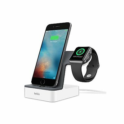 Belkin Charge Dock Powerhouse For Apple Watch Iphone X 8 7 6 6S Plus F8J200Auwht