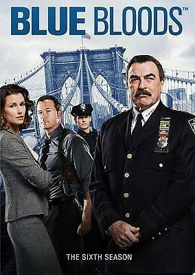 Blue Bloods: The Complete Sixth Season 6 (DVD, 2016, 6-Disc Set) New