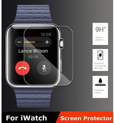 Tempered Glass iWatch Protective Cover For Apple Watch 42mm Screen Protector