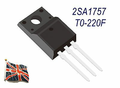 Replacement 2Sa1757 A1757 High Speed Switching Transistor To-220F New Uk Stock