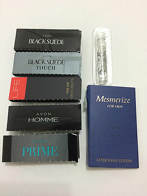 Avon Mixed Mens Cologne/Perfume Samples x 7