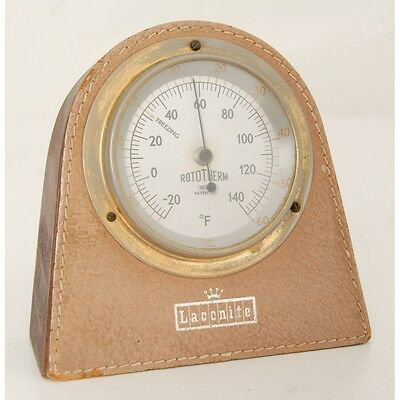 Working Vintage Rototherm Desk / Table Thermometer.