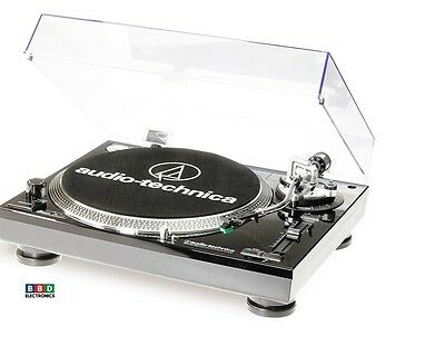 Audio Technica AT-LP120-USBHS10 Turntable (Black)