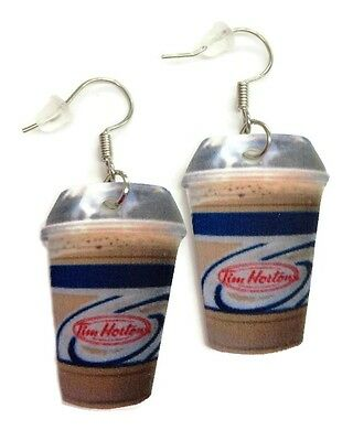 Tim Horton's Ice Cap Novelty Earrings