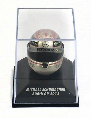 Michael Schumacher replica Helm 300th GP 1:8