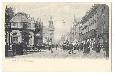 GLASGOW The Cross, Old Postcard, Unused