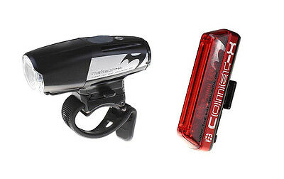 Moon Meteor-X Auto Pro + Moon Comet Rear Cycling Light Set - up to 700 Lumens