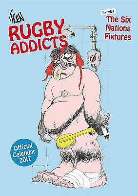 Gren's Rugby Addicts Official 2017 A3 Wall Calendar