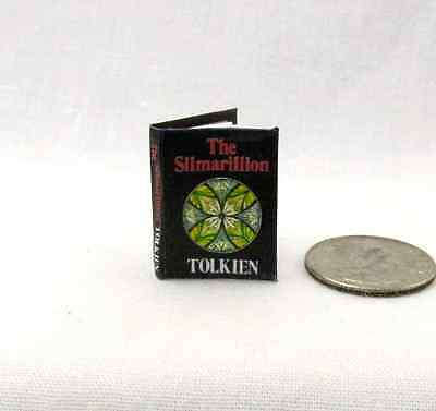 THE SILMARILLION, Miniature Book Dollhouse 1:12 Scale Readable Illustrated