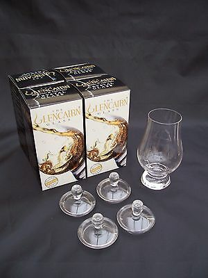 4 Quantity - Glencairn Official Whisky Glass with Tasting Top in Gift Cartons