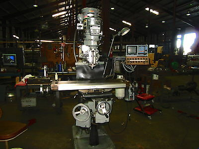 "9"" x 42"" BRIDGEPORT SERIES 1 VERTICAL MILL"