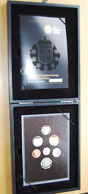 Royal Mint 2008 UK Royal Shield Of Arms Set Of 7 Proof Coins Cased + Box & COA #