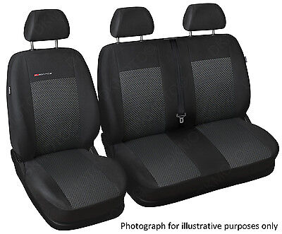 Tailored seat covers fit Nissan Primastar   1+2   grey3