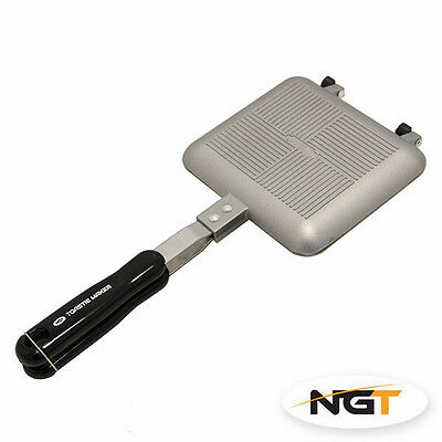 NGT Bankside Toastie Maker Sandwich Toaster for Carp Fishing / Camping / Outdoor
