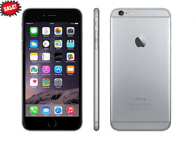 New Apple iPhone 6 16GB Space Gray AT&T Factory GSM Unlocked 4G LTE Smartphone