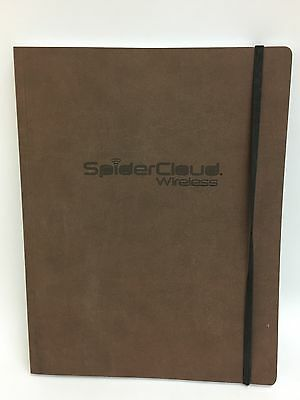 "SpiderCloud Wireless 8 1/2"" x 11"" Ruled Notebook"